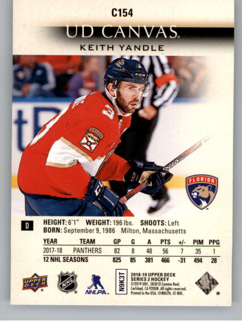 2018-19-Upper-Deck-Series-2-Canvas-Young-Guns-Rookie-RC-Hockey-Cards-You-Pick miniature 9