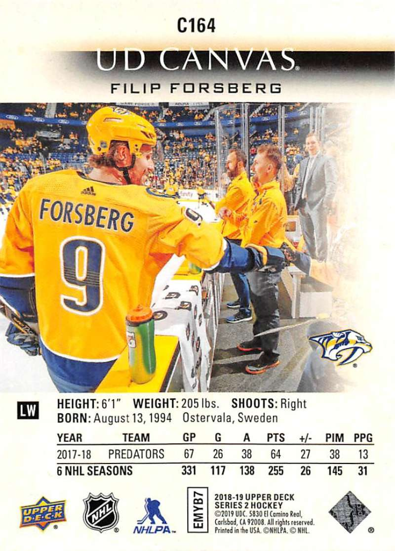 2018-19-Upper-Deck-CANVAS-Hockey-Series-1-amp-2-Vets-Young-Guns-RC-Pick-Yer-Cards miniature 225