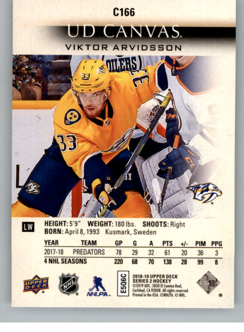 2018-19-Upper-Deck-CANVAS-Hockey-Series-1-amp-2-Vets-Young-Guns-RC-Pick-Yer-Cards miniature 229