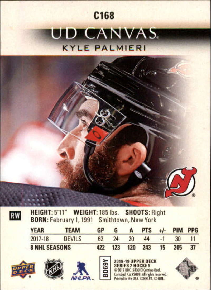 2018-19-Upper-Deck-CANVAS-Hockey-Series-1-amp-2-Vets-Young-Guns-RC-Pick-Yer-Cards miniature 231