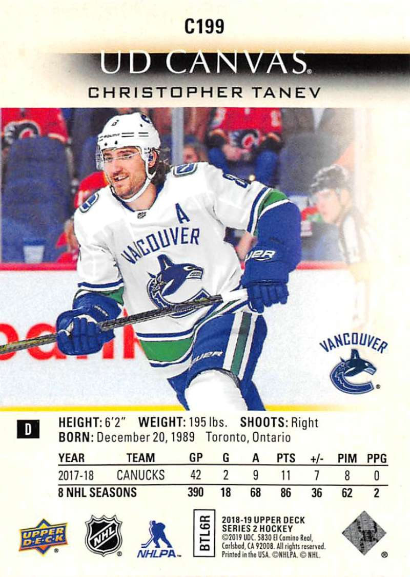 2018-19-Upper-Deck-CANVAS-Hockey-Series-1-amp-2-Vets-Young-Guns-RC-Pick-Yer-Cards miniature 275