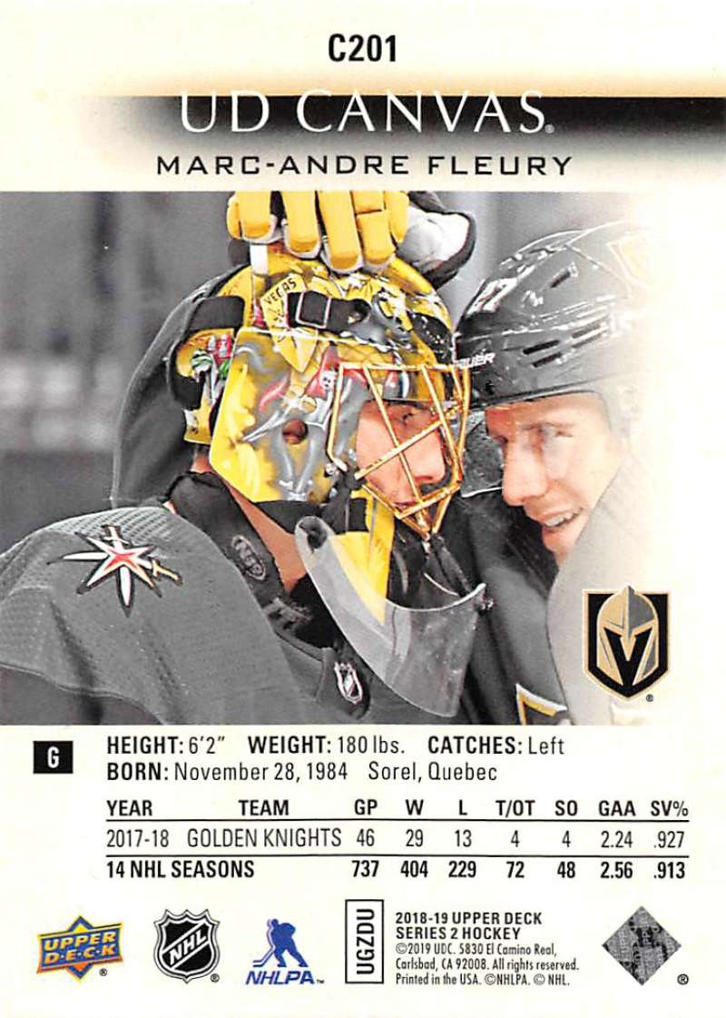2018-19-Upper-Deck-CANVAS-Hockey-Series-1-amp-2-Vets-Young-Guns-RC-Pick-Yer-Cards miniature 279