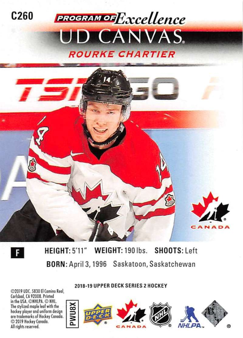 2018-19-Upper-Deck-Series-2-Canvas-Young-Guns-Rookie-RC-Hockey-Cards-You-Pick miniature 35