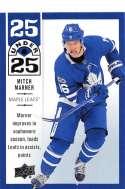 2018-19 Upper Deck 25 Under 25 Hockey #U25-22 Mitch Marner Toronto Maple Leafs Official NHL UD Trading Card