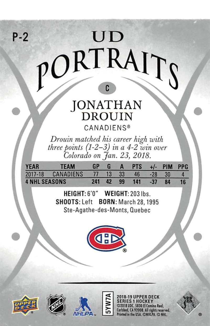 2018-19-Upper-Deck-Series-1-NHL-Hockey-Insert-Singles-Pick-Your-Cards miniature 5