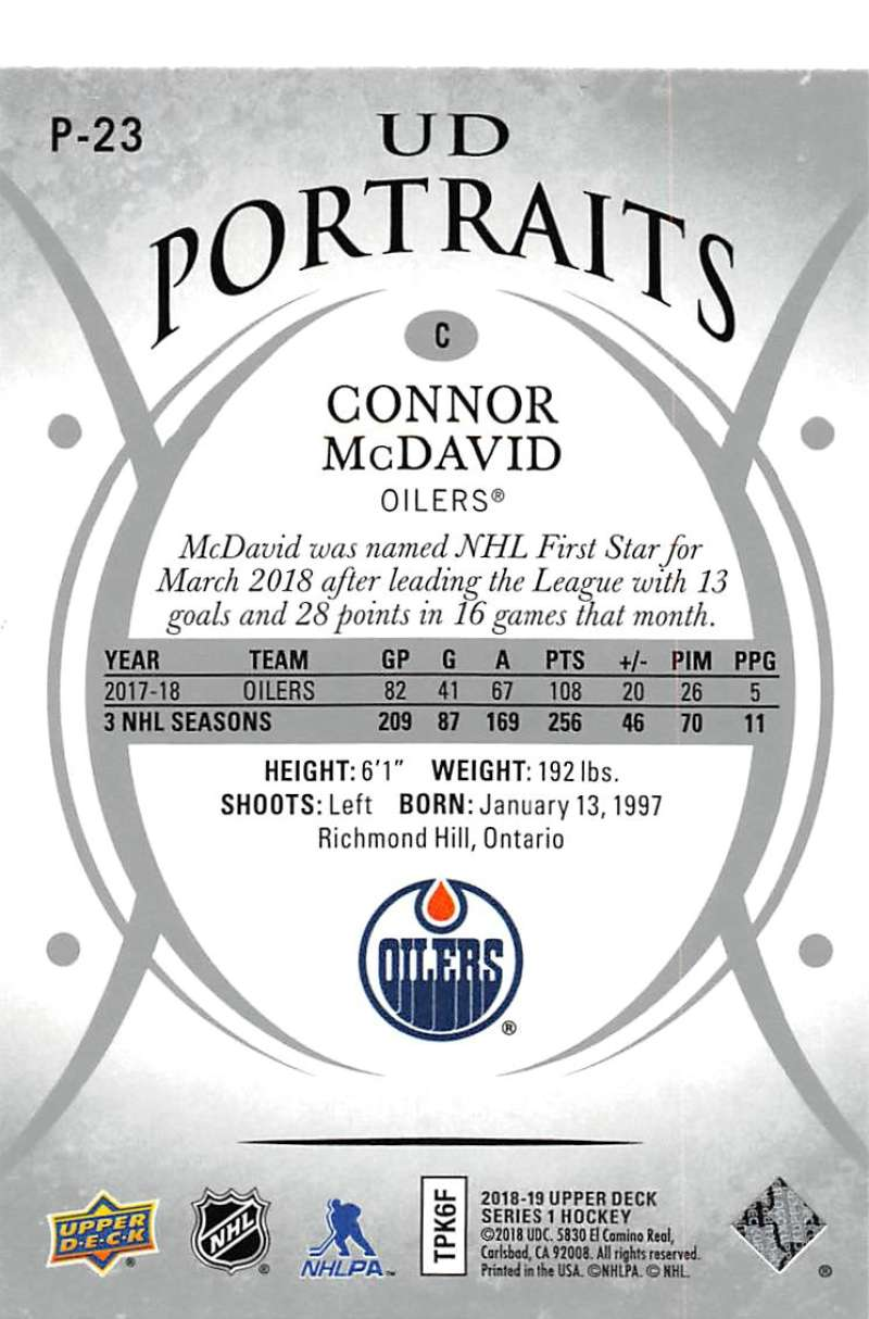 2018-19-Upper-Deck-Series-1-NHL-Hockey-Insert-Singles-Pick-Your-Cards miniature 37