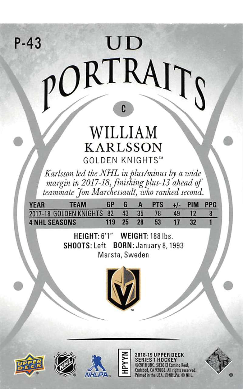 2018-19-Upper-Deck-Series-1-NHL-Hockey-Insert-Singles-Pick-Your-Cards miniature 71