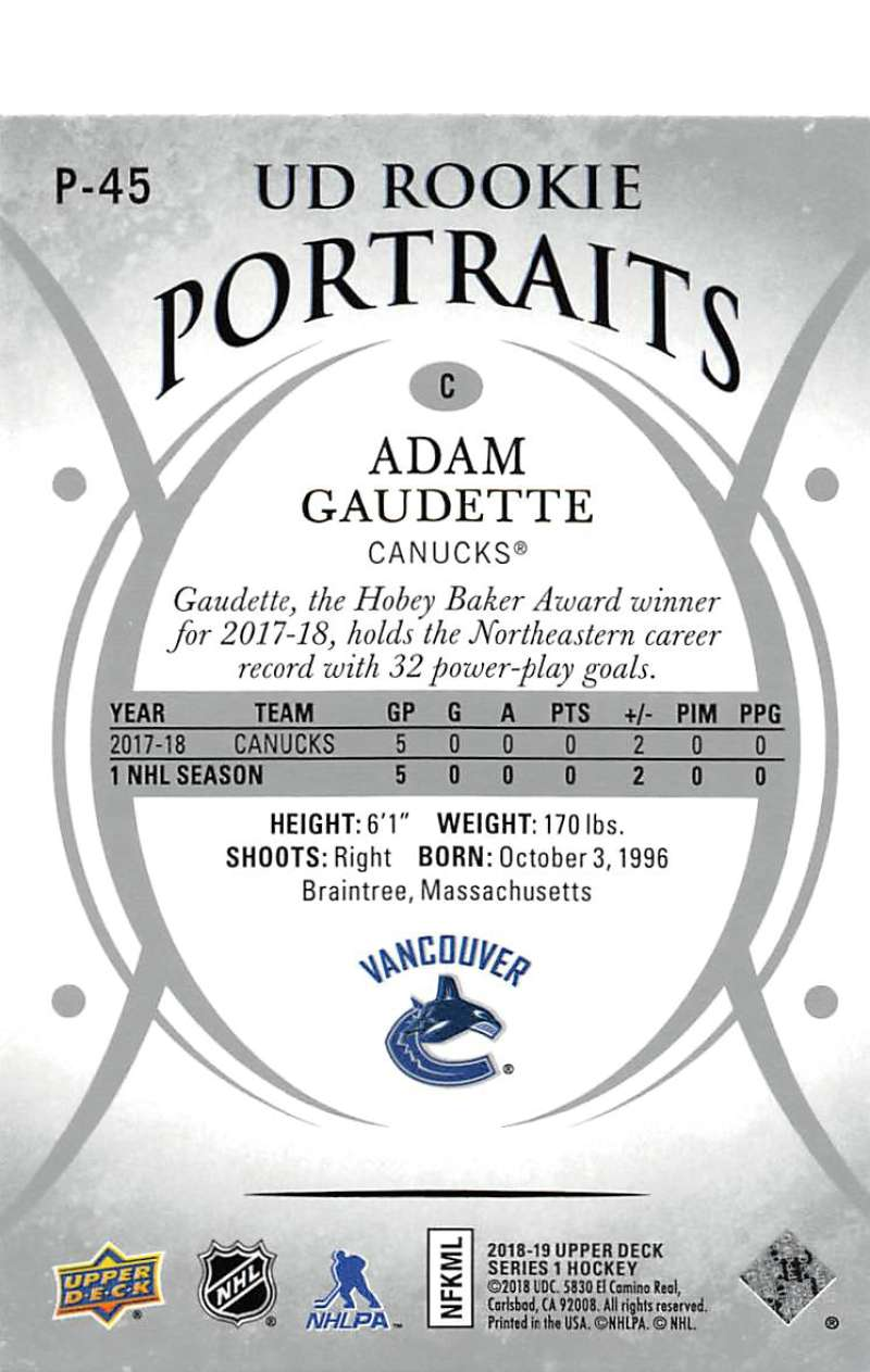 2018-19-Upper-Deck-Series-1-NHL-Hockey-Insert-Singles-Pick-Your-Cards miniature 75