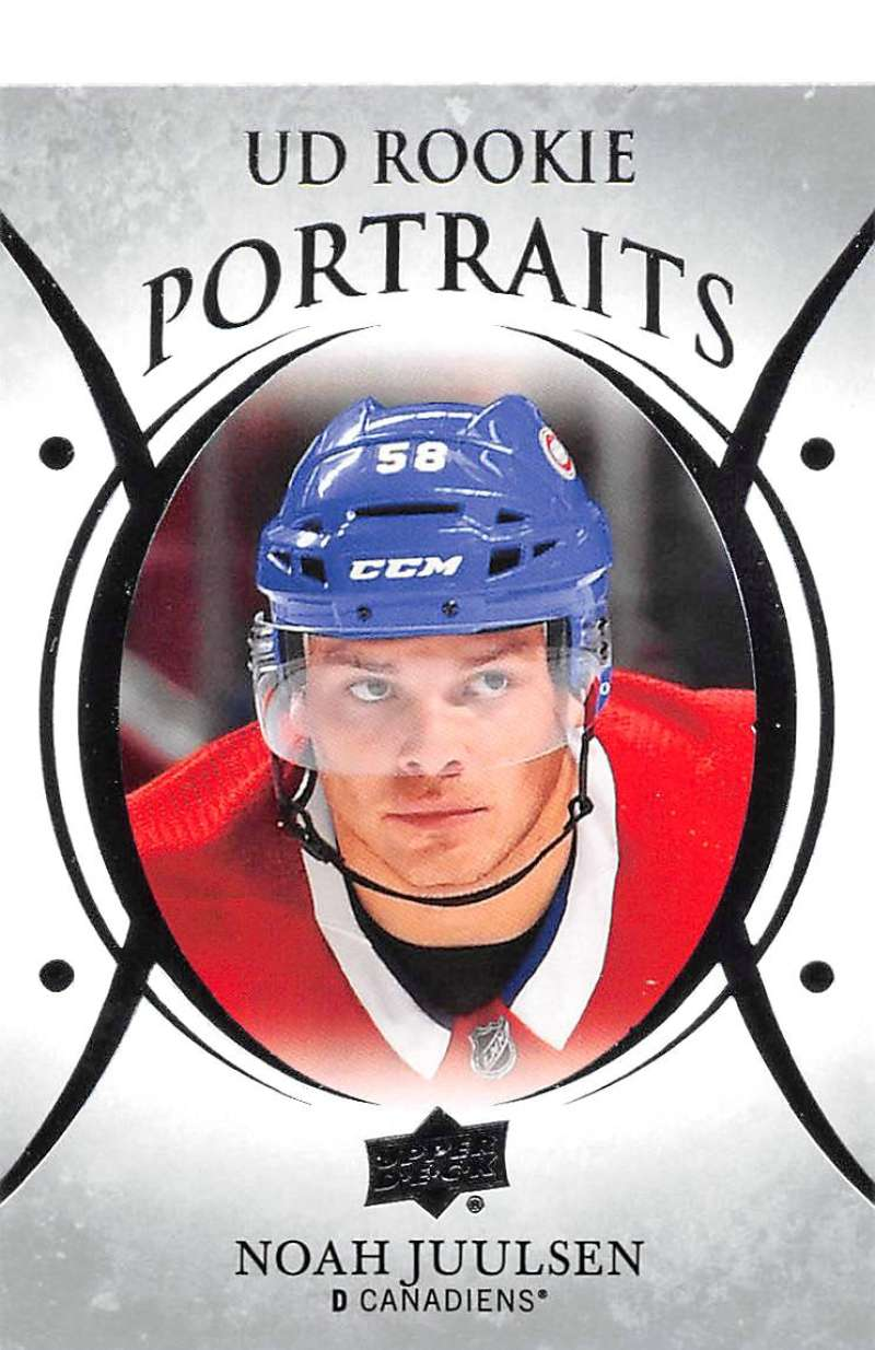 2018-19-Upper-Deck-UD-Rookie-Portraits-RC-Hockey-Cards-You-Pick miniature 12