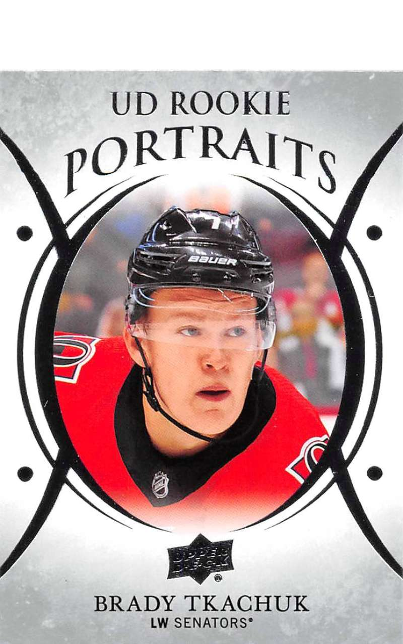 2018-19-Upper-Deck-UD-Rookie-Portraits-RC-Hockey-Cards-You-Pick miniature 14
