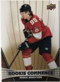 2018-19 Upper Deck Rookie Commence Hockey #RC-HB Henrik Borgstrom Florida Panthers RC Official NHL UD Trading Card