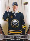 2018-19 Upper Deck Rookie Commence Hockey #RC-RD Rasmus Dahlin Buffalo Sabres  RC Official NHL UD Trading Card