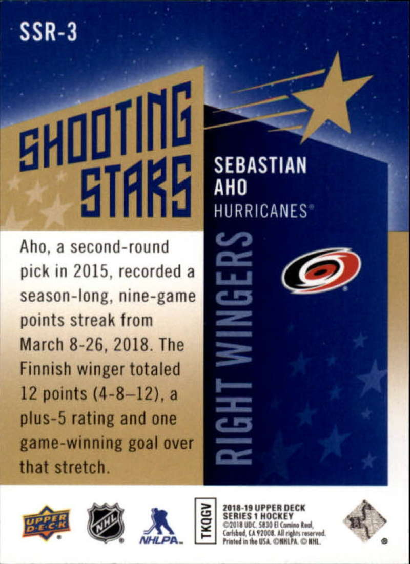 2018-19-Upper-Deck-Shooting-Stars-Blue-or-Black-Insert-Cards-Pick-From-List thumbnail 75
