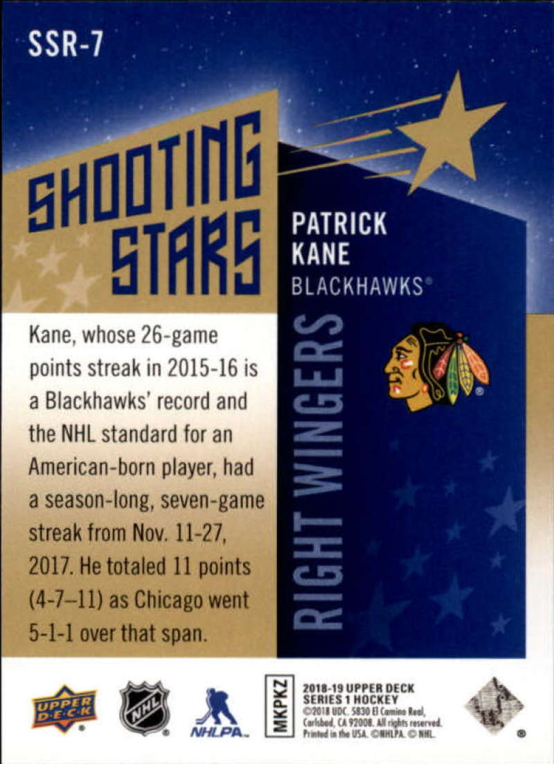 2018-19-Upper-Deck-Shooting-Stars-Blue-or-Black-Insert-Cards-Pick-From-List thumbnail 79