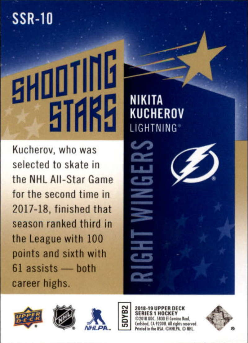 2018-19-Upper-Deck-Shooting-Stars-Blue-or-Black-Insert-Cards-Pick-From-List thumbnail 81