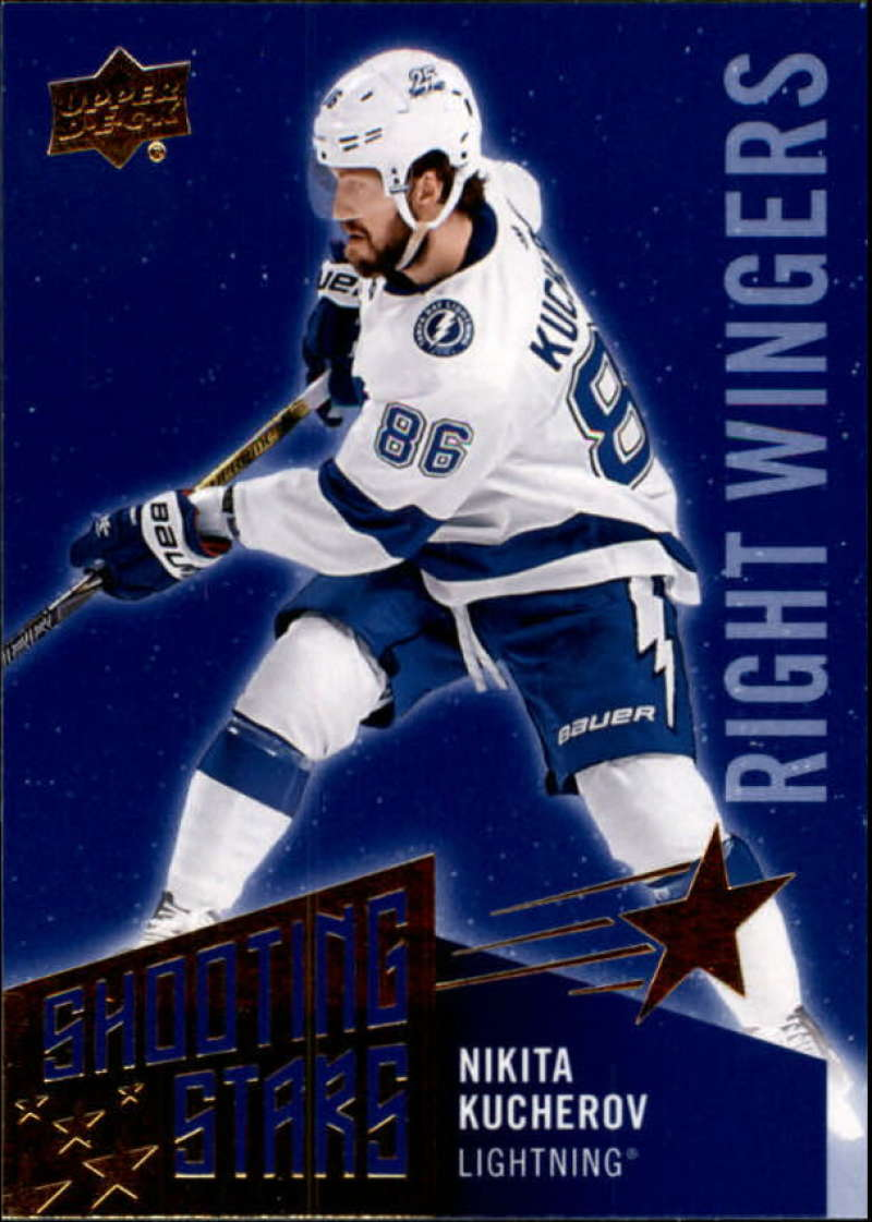 2018-19-Upper-Deck-Shooting-Stars-Blue-or-Black-Insert-Cards-Pick-From-List thumbnail 80