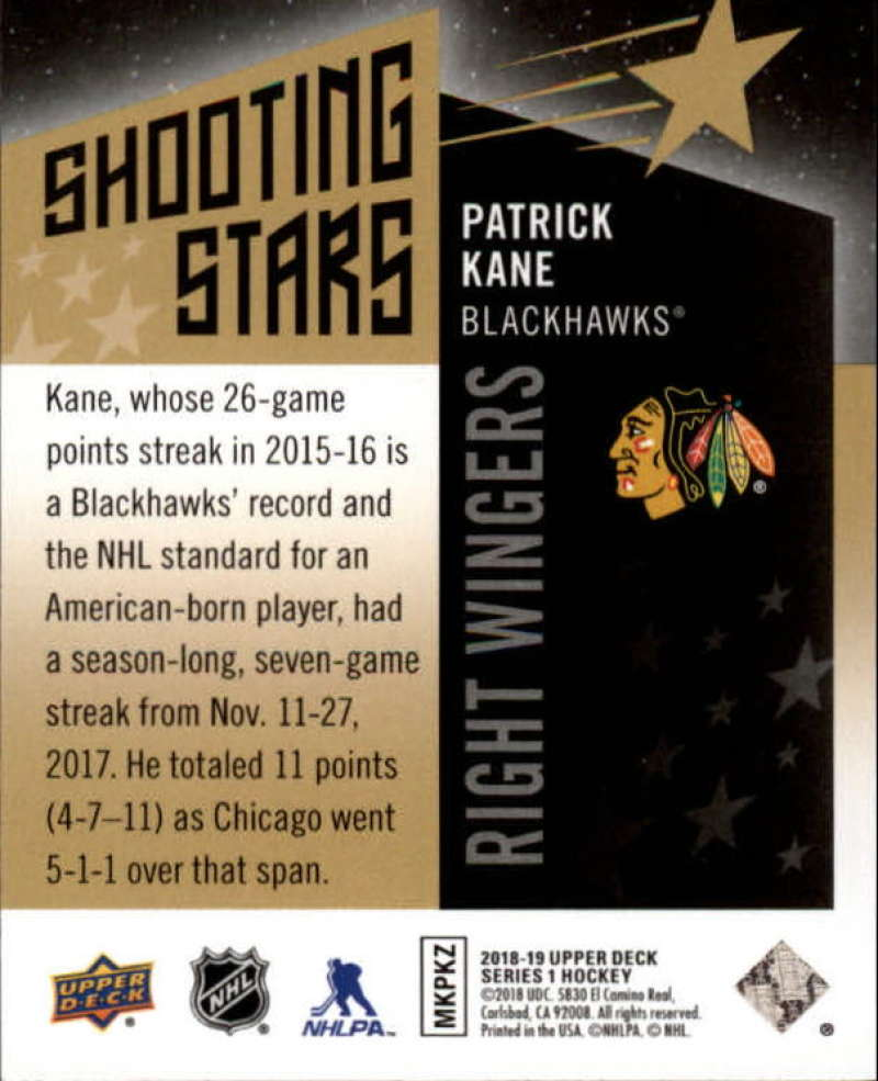 2018-19-Upper-Deck-Shooting-Stars-Blue-or-Black-Insert-Cards-Pick-From-List thumbnail 83