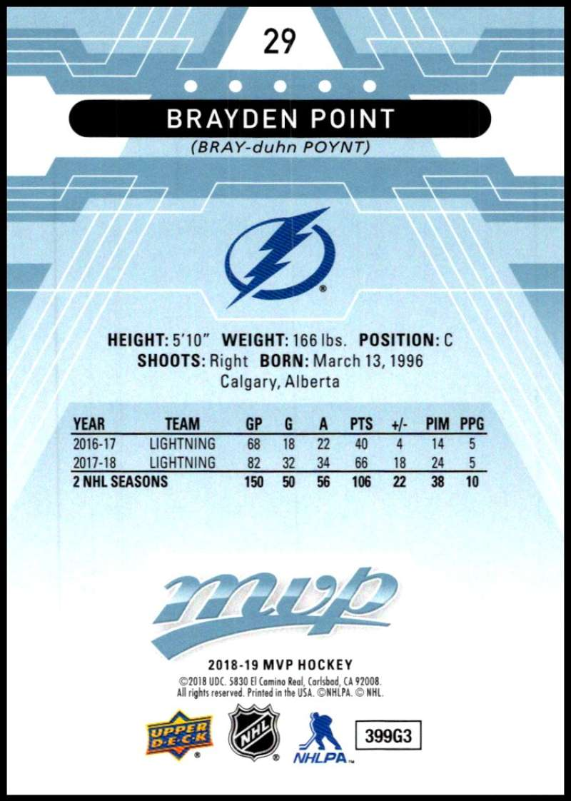 2018-19-Upper-Deck-MVP-Blue-Factory-Set-Parallels-Pick-From-List-With-Rookies miniature 59