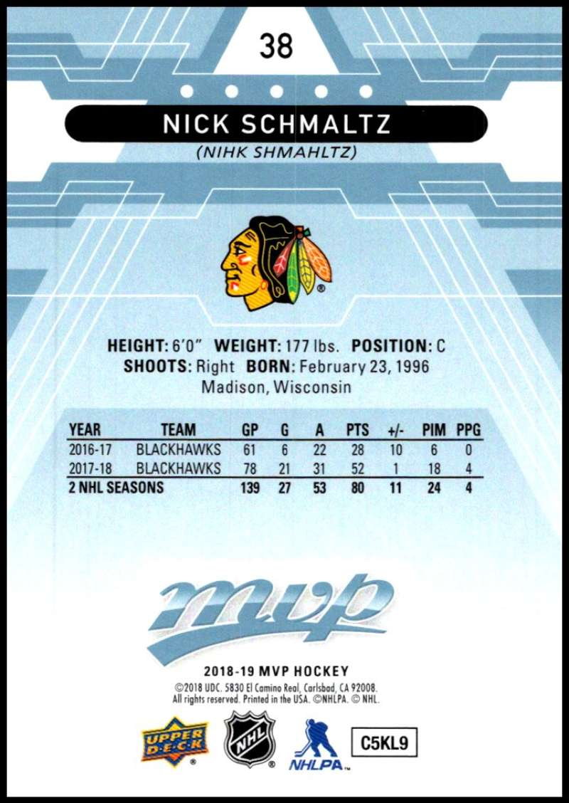 2018-19-Upper-Deck-MVP-Blue-Factory-Set-Parallels-Pick-From-List-With-Rookies miniature 77