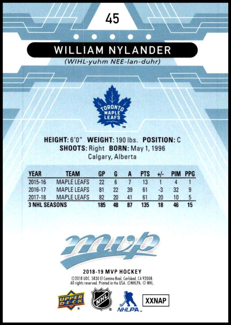 2018-19-Upper-Deck-MVP-Blue-Factory-Set-Parallels-Pick-From-List-With-Rookies miniature 91