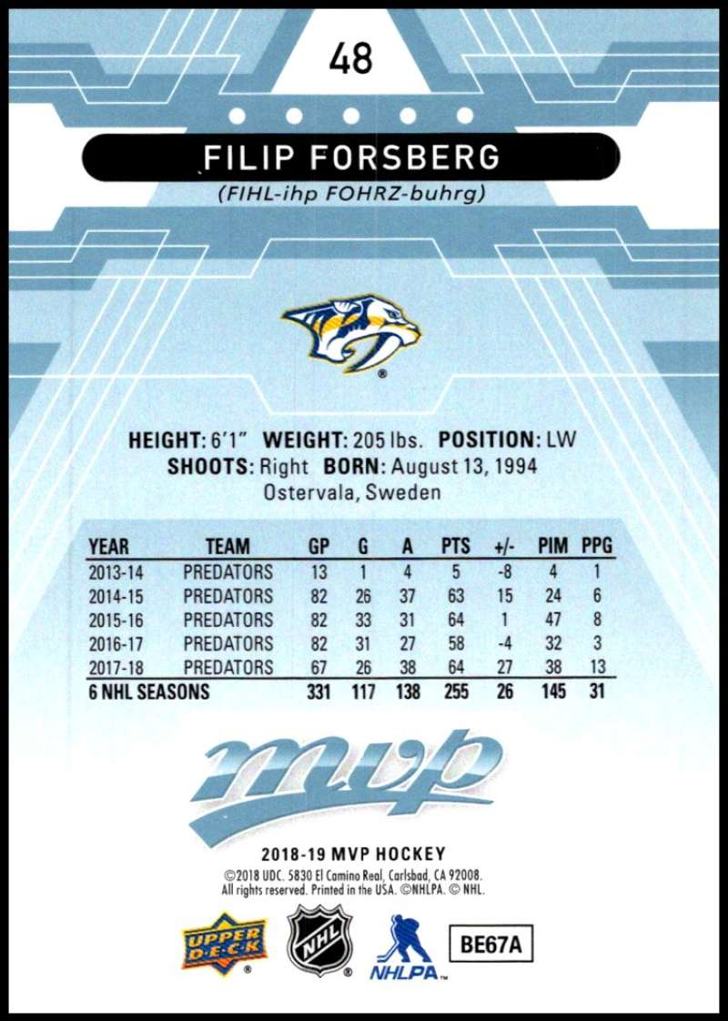2018-19-Upper-Deck-MVP-Blue-Factory-Set-Parallels-Pick-From-List-With-Rookies miniature 97