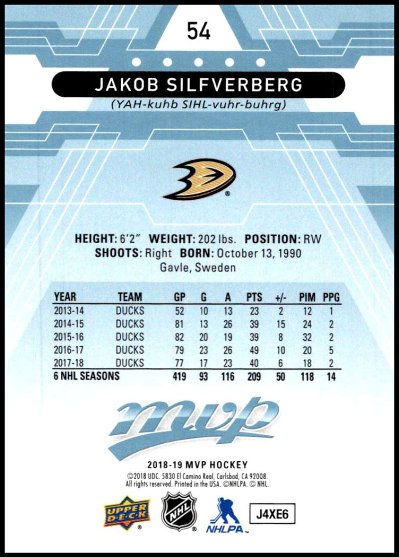 2018-19-Upper-Deck-MVP-Blue-Factory-Set-Parallels-Pick-From-List-With-Rookies miniature 109