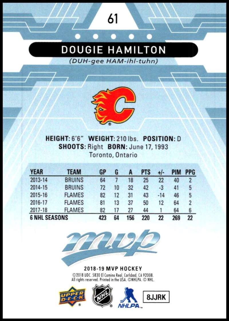 2018-19-Upper-Deck-MVP-Blue-Factory-Set-Parallels-Pick-From-List-With-Rookies miniature 123