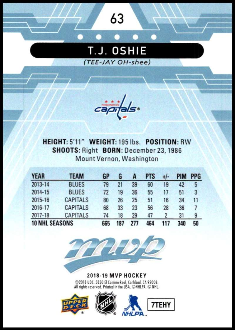 2018-19-Upper-Deck-MVP-Blue-Factory-Set-Parallels-Pick-From-List-With-Rookies miniature 127