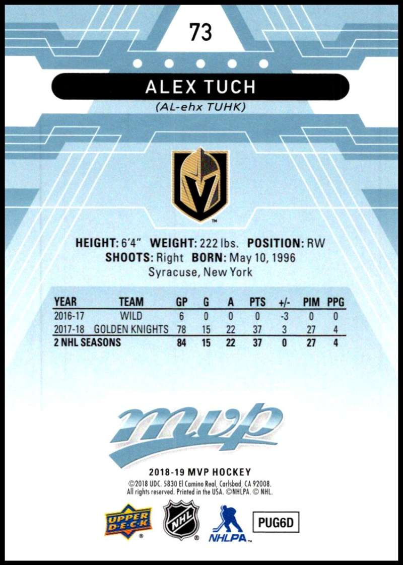2018-19-Upper-Deck-MVP-Blue-Factory-Set-Parallels-Pick-From-List-With-Rookies miniature 147