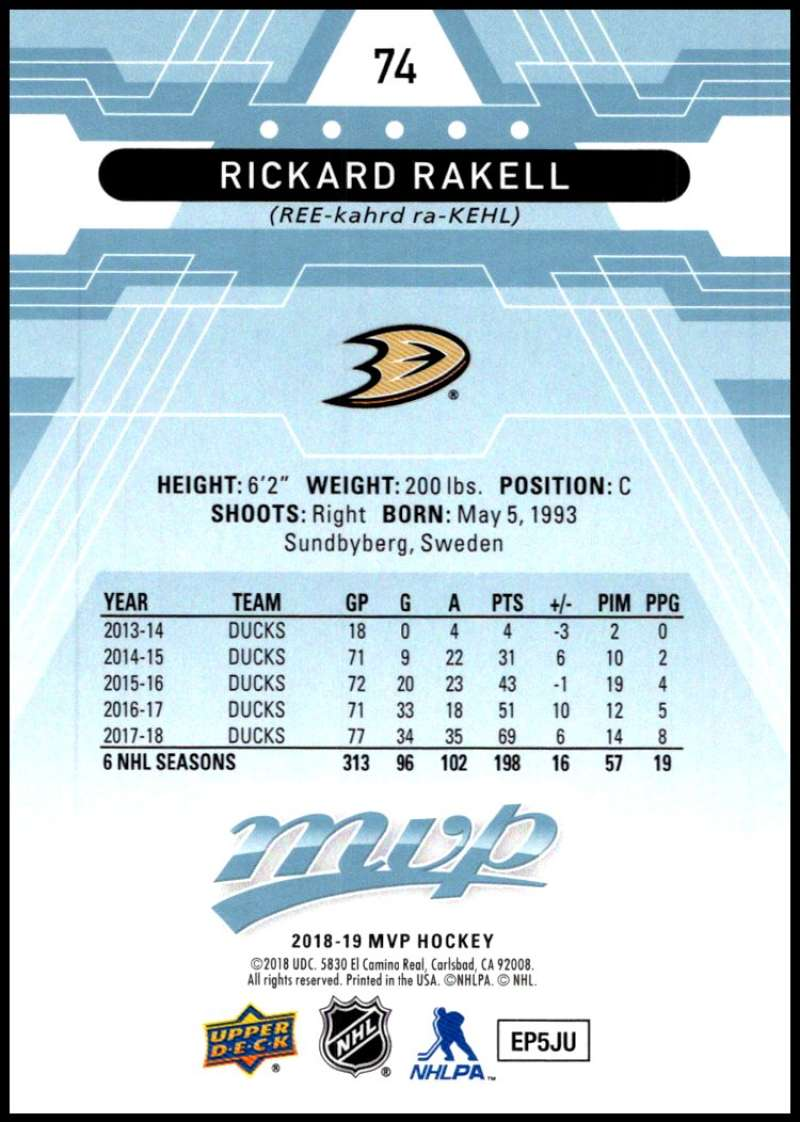 2018-19-Upper-Deck-MVP-Blue-Factory-Set-Parallels-Pick-From-List-With-Rookies miniature 149