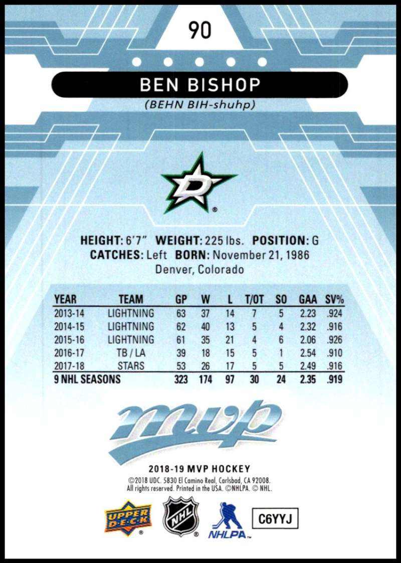 2018-19-Upper-Deck-MVP-Blue-Factory-Set-Parallels-Pick-From-List-With-Rookies miniature 181