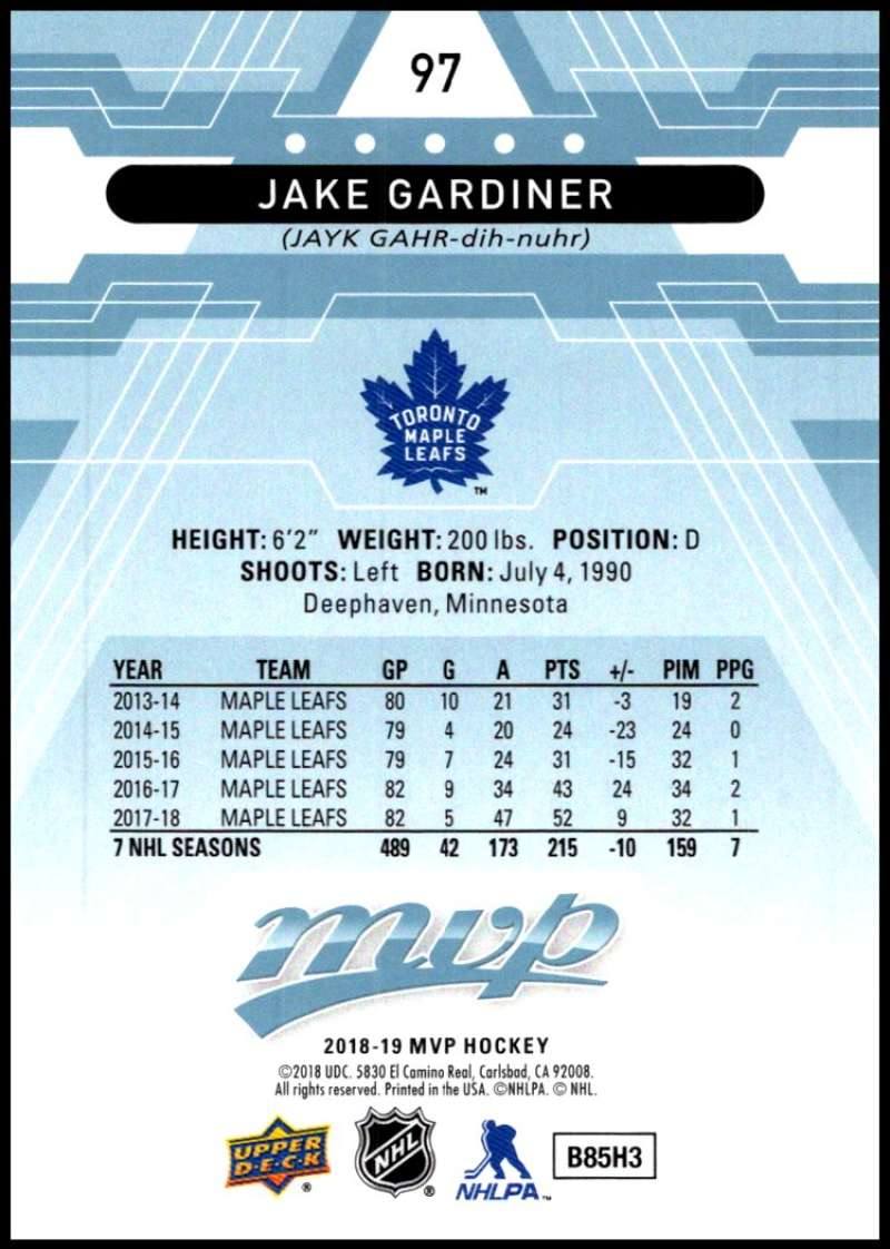 2018-19-Upper-Deck-MVP-Blue-Factory-Set-Parallels-Pick-From-List-With-Rookies miniature 195