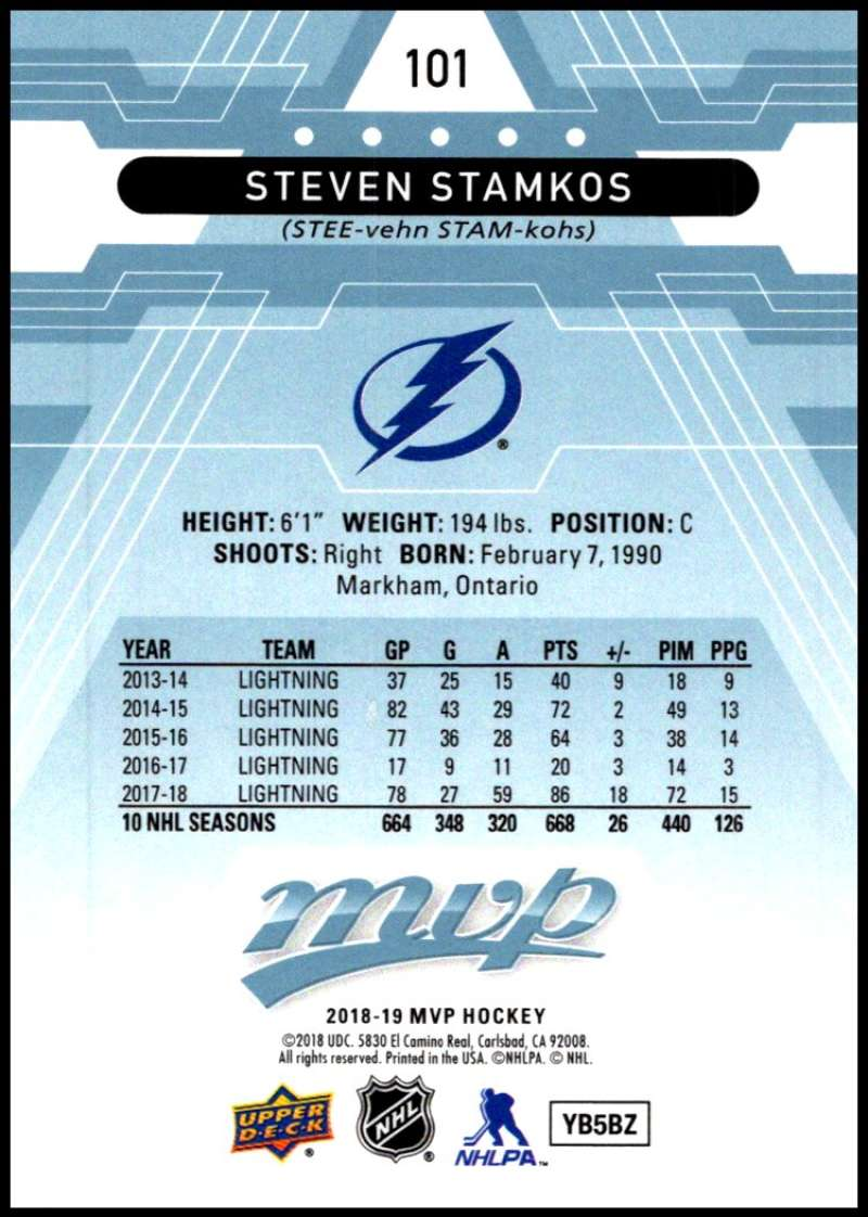 2018-19-Upper-Deck-MVP-Blue-Factory-Set-Parallels-Pick-From-List-With-Rookies miniature 203