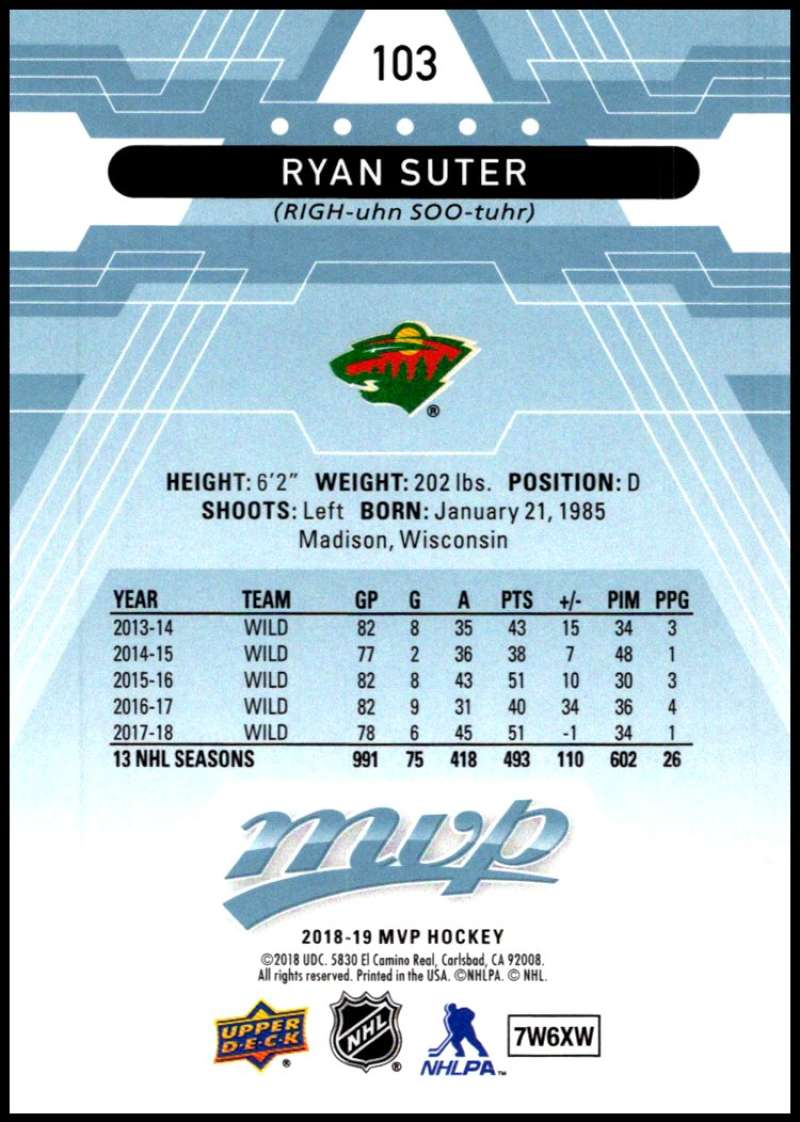 2018-19-Upper-Deck-MVP-Blue-Factory-Set-Parallels-Pick-From-List-With-Rookies miniature 207