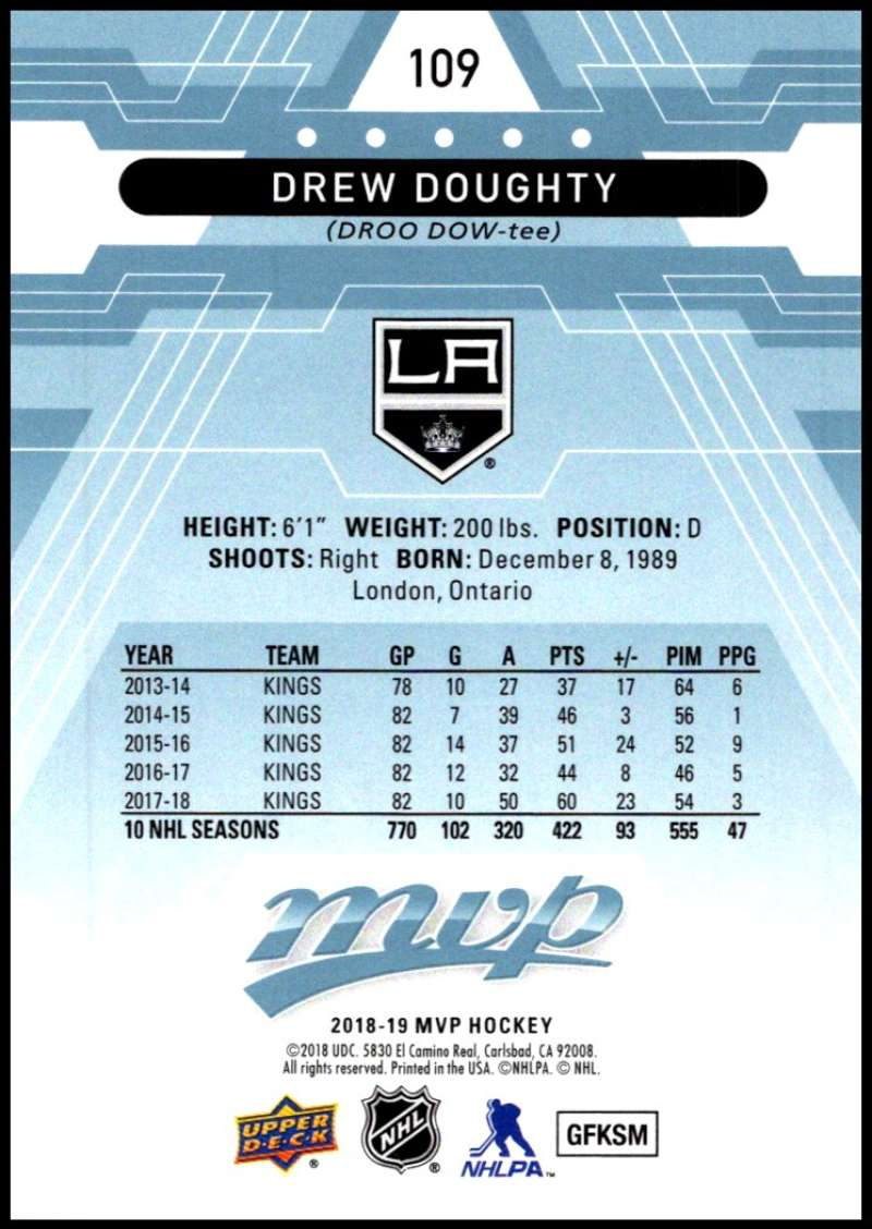 2018-19-Upper-Deck-MVP-Blue-Factory-Set-Parallels-Pick-From-List-With-Rookies miniature 219