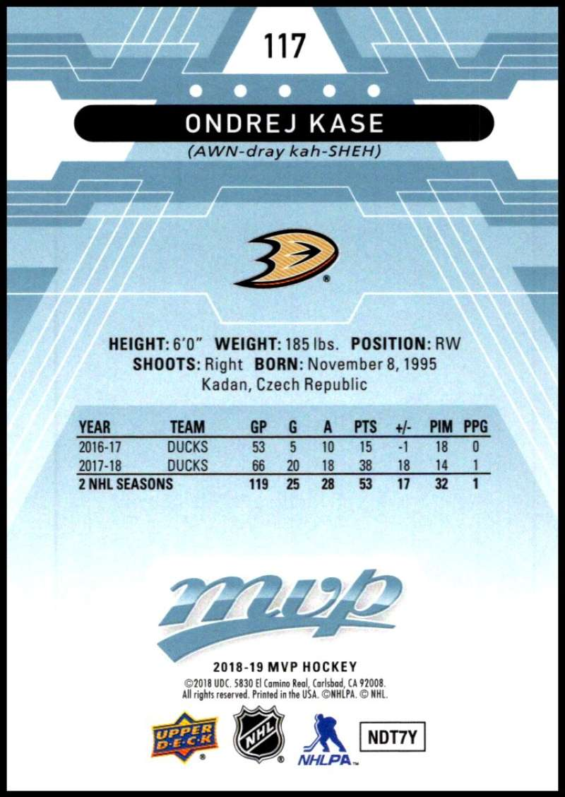 2018-19-Upper-Deck-MVP-Blue-Factory-Set-Parallels-Pick-From-List-With-Rookies miniature 235