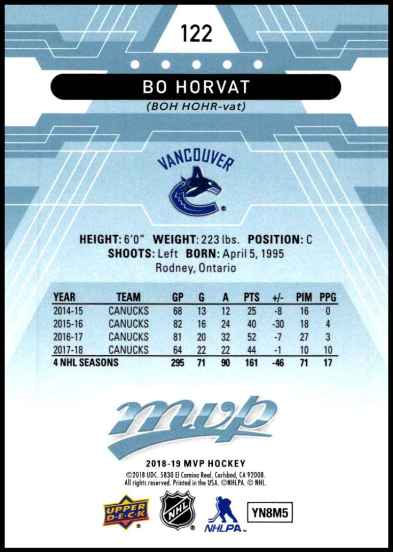 2018-19-Upper-Deck-MVP-Blue-Factory-Set-Parallels-Pick-From-List-With-Rookies miniature 245
