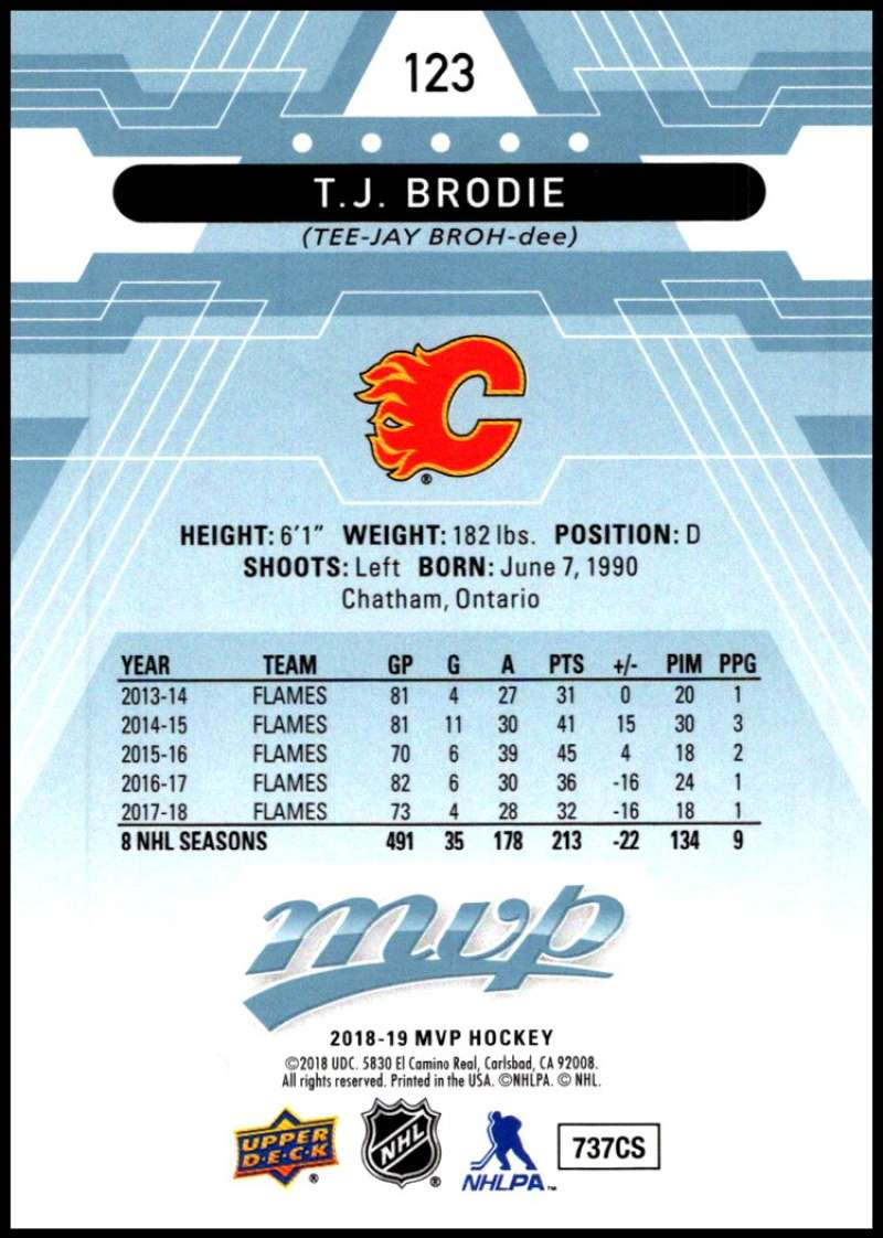 2018-19-Upper-Deck-MVP-Blue-Factory-Set-Parallels-Pick-From-List-With-Rookies miniature 247
