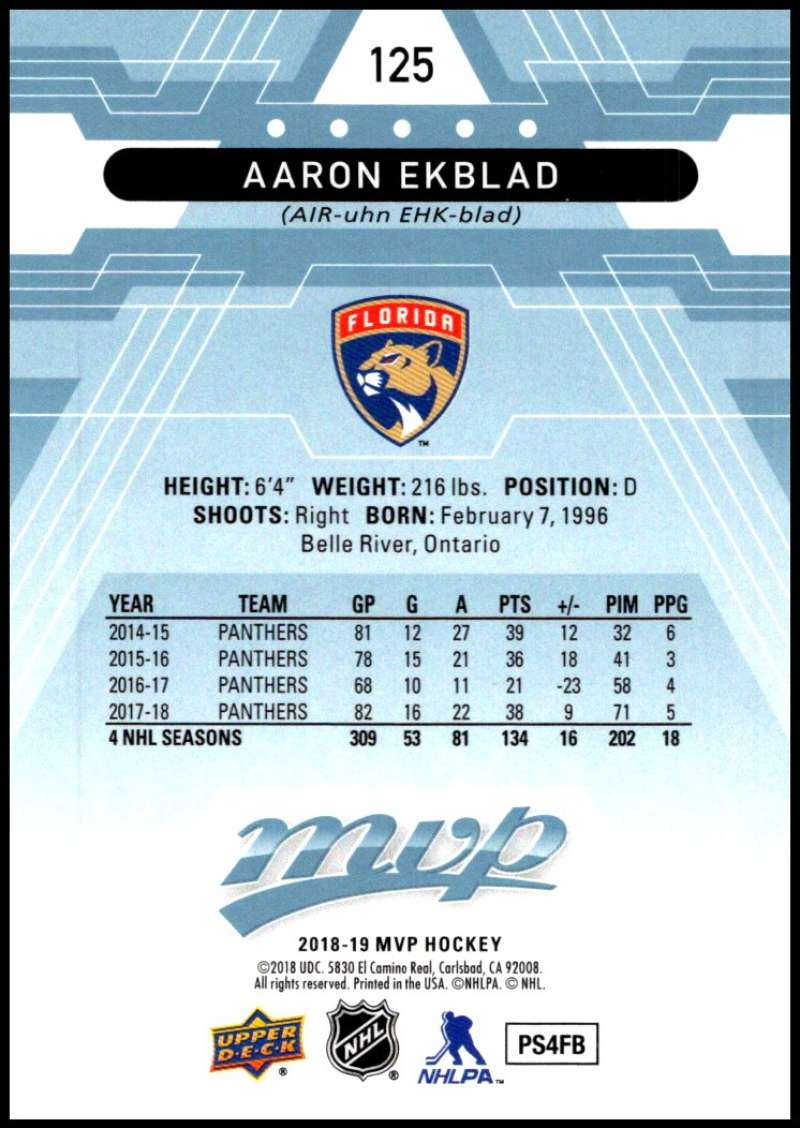 2018-19-Upper-Deck-MVP-Blue-Factory-Set-Parallels-Pick-From-List-With-Rookies miniature 251