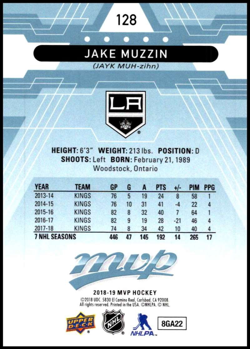 2018-19-Upper-Deck-MVP-Blue-Factory-Set-Parallels-Pick-From-List-With-Rookies miniature 257