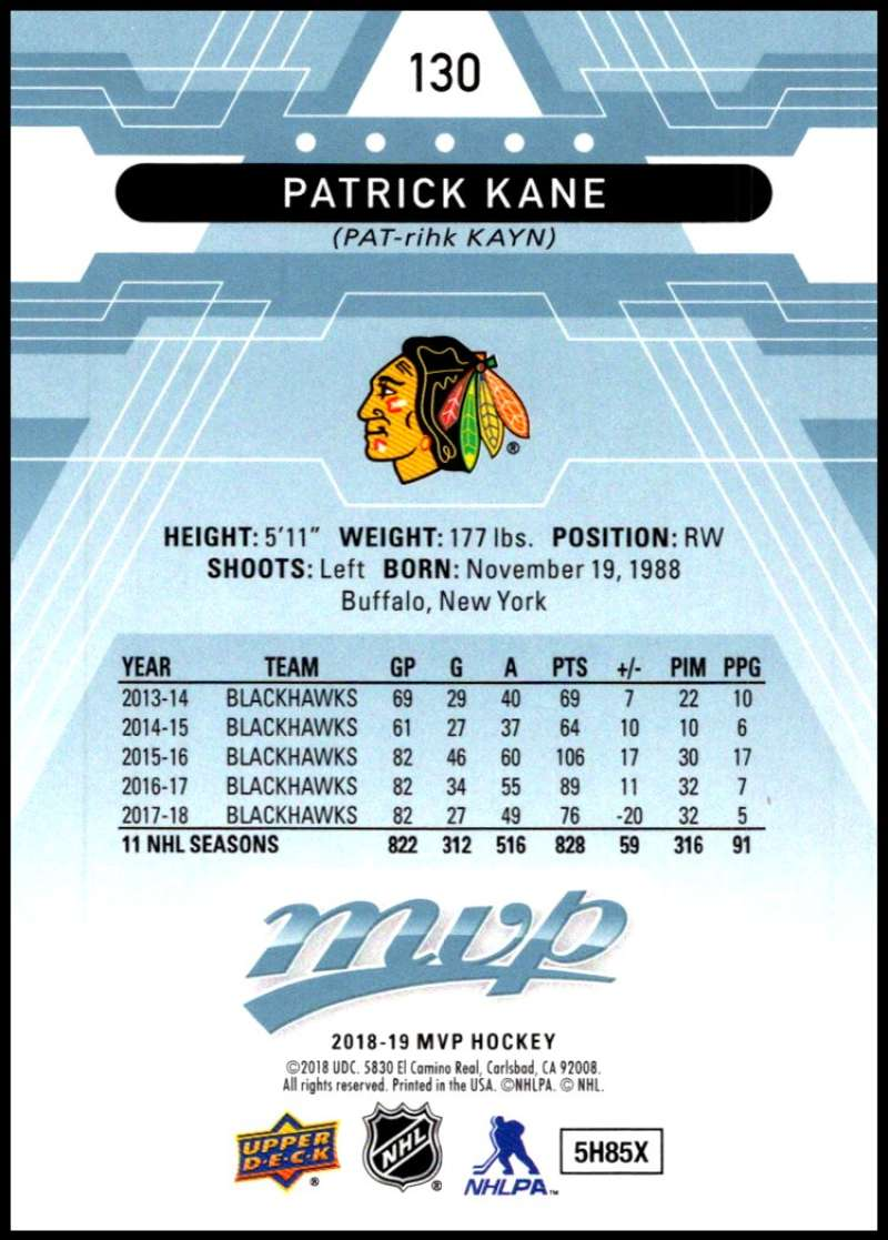 2018-19-Upper-Deck-MVP-Blue-Factory-Set-Parallels-Pick-From-List-With-Rookies miniature 261