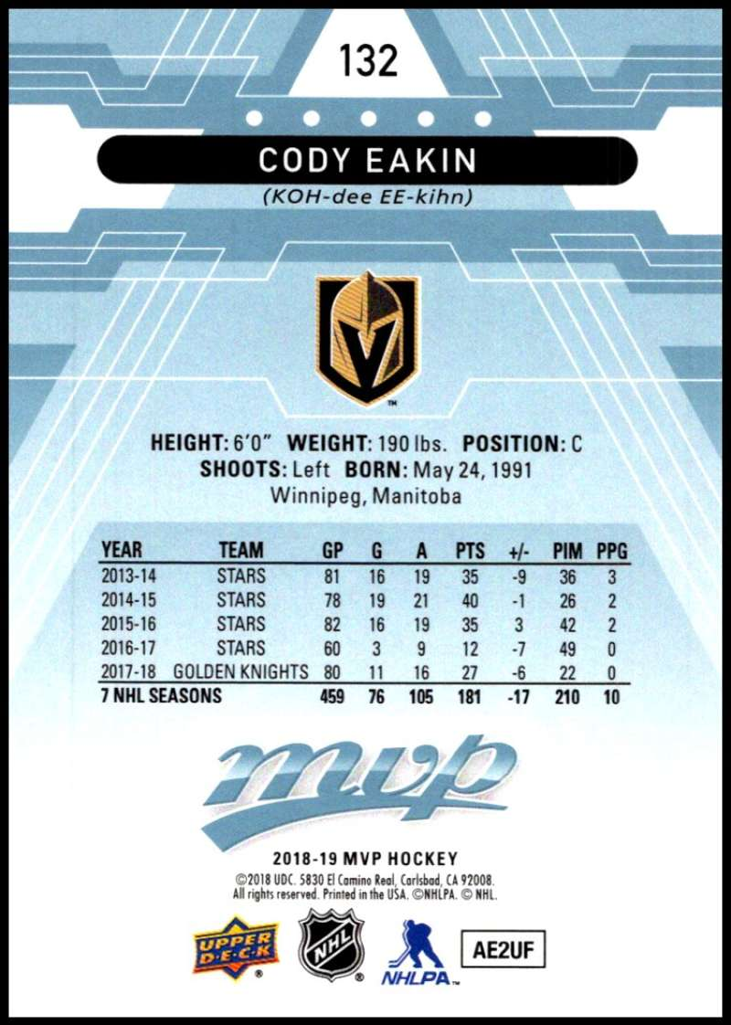 2018-19-Upper-Deck-MVP-Blue-Factory-Set-Parallels-Pick-From-List-With-Rookies miniature 265