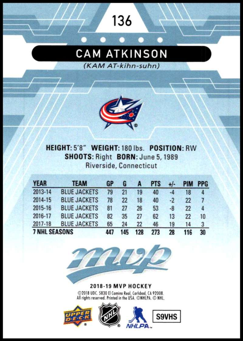 2018-19-Upper-Deck-MVP-Blue-Factory-Set-Parallels-Pick-From-List-With-Rookies miniature 273