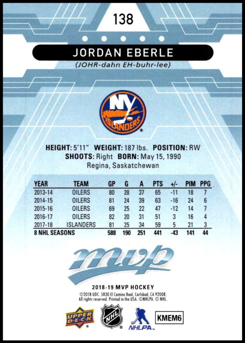 2018-19-Upper-Deck-MVP-Blue-Factory-Set-Parallels-Pick-From-List-With-Rookies miniature 277