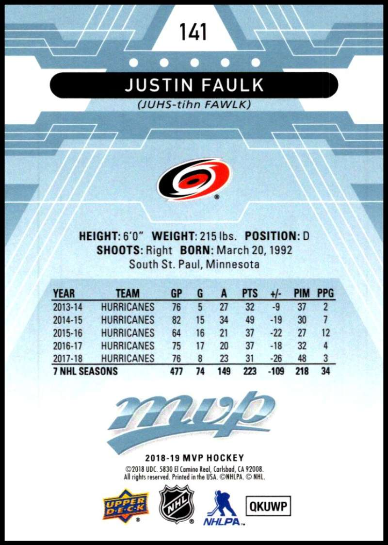2018-19-Upper-Deck-MVP-Blue-Factory-Set-Parallels-Pick-From-List-With-Rookies miniature 283