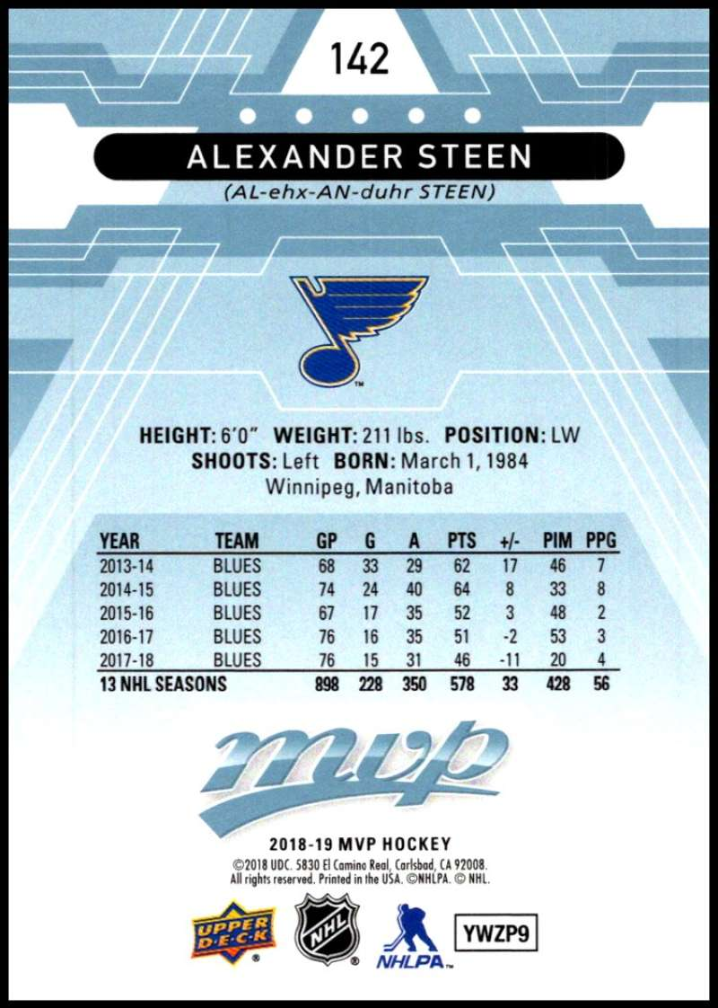 2018-19-Upper-Deck-MVP-Blue-Factory-Set-Parallels-Pick-From-List-With-Rookies miniature 285