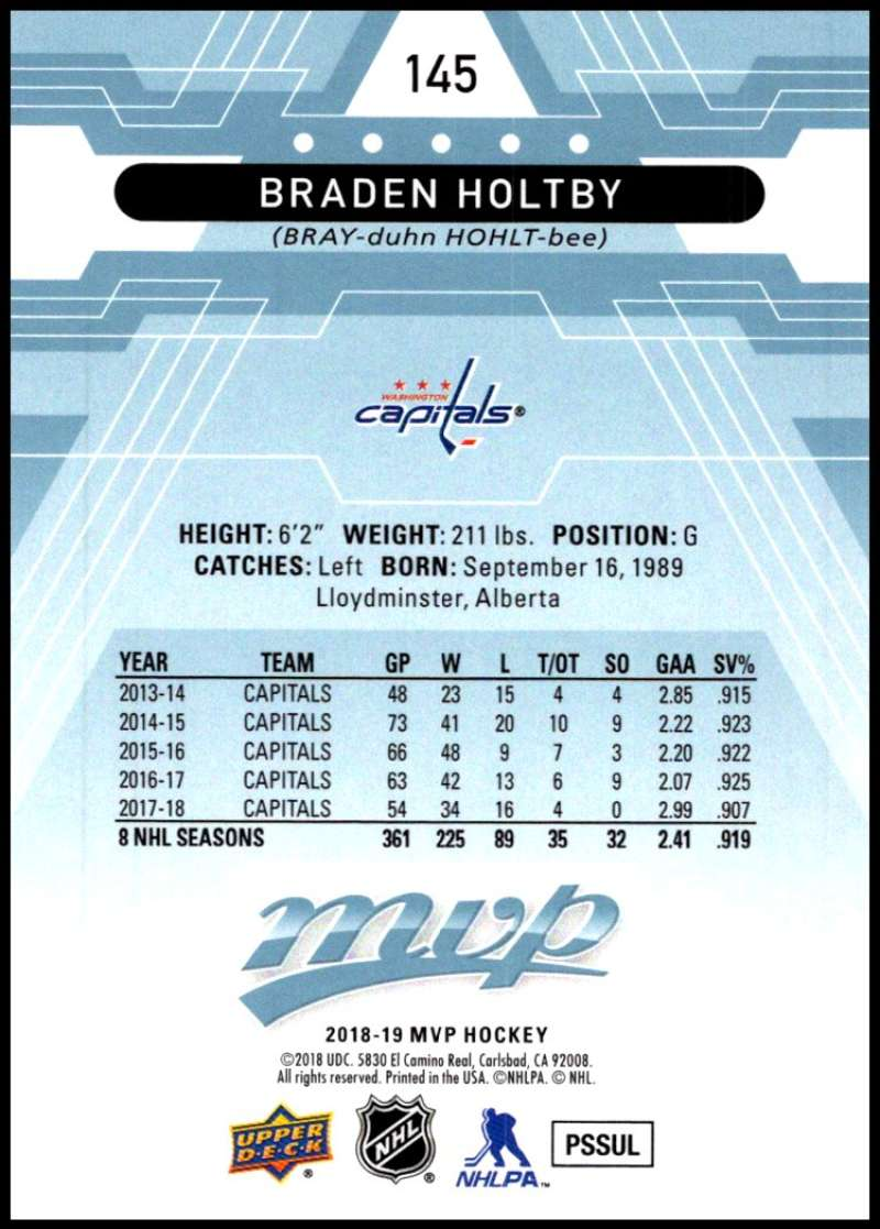 2018-19-Upper-Deck-MVP-Blue-Factory-Set-Parallels-Pick-From-List-With-Rookies miniature 291