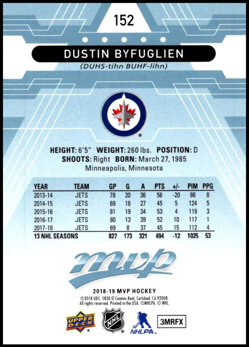 2018-19-Upper-Deck-MVP-Blue-Factory-Set-Parallels-Pick-From-List-With-Rookies miniature 305