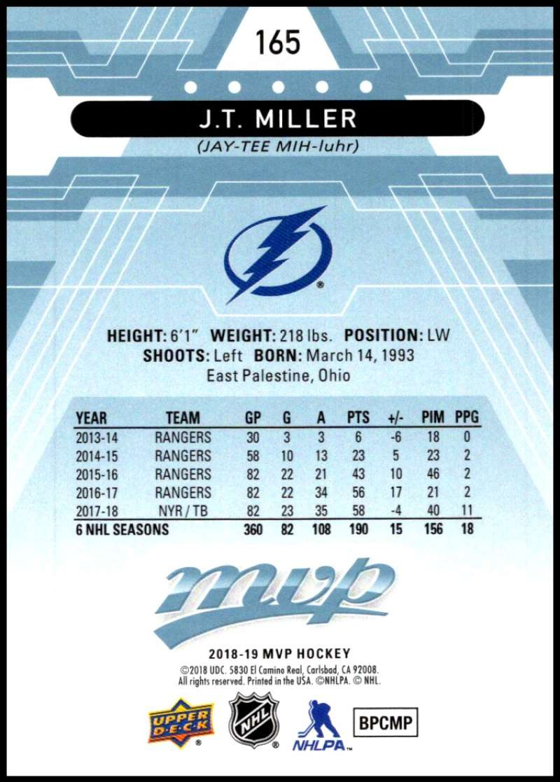2018-19-Upper-Deck-MVP-Blue-Factory-Set-Parallels-Pick-From-List-With-Rookies miniature 331