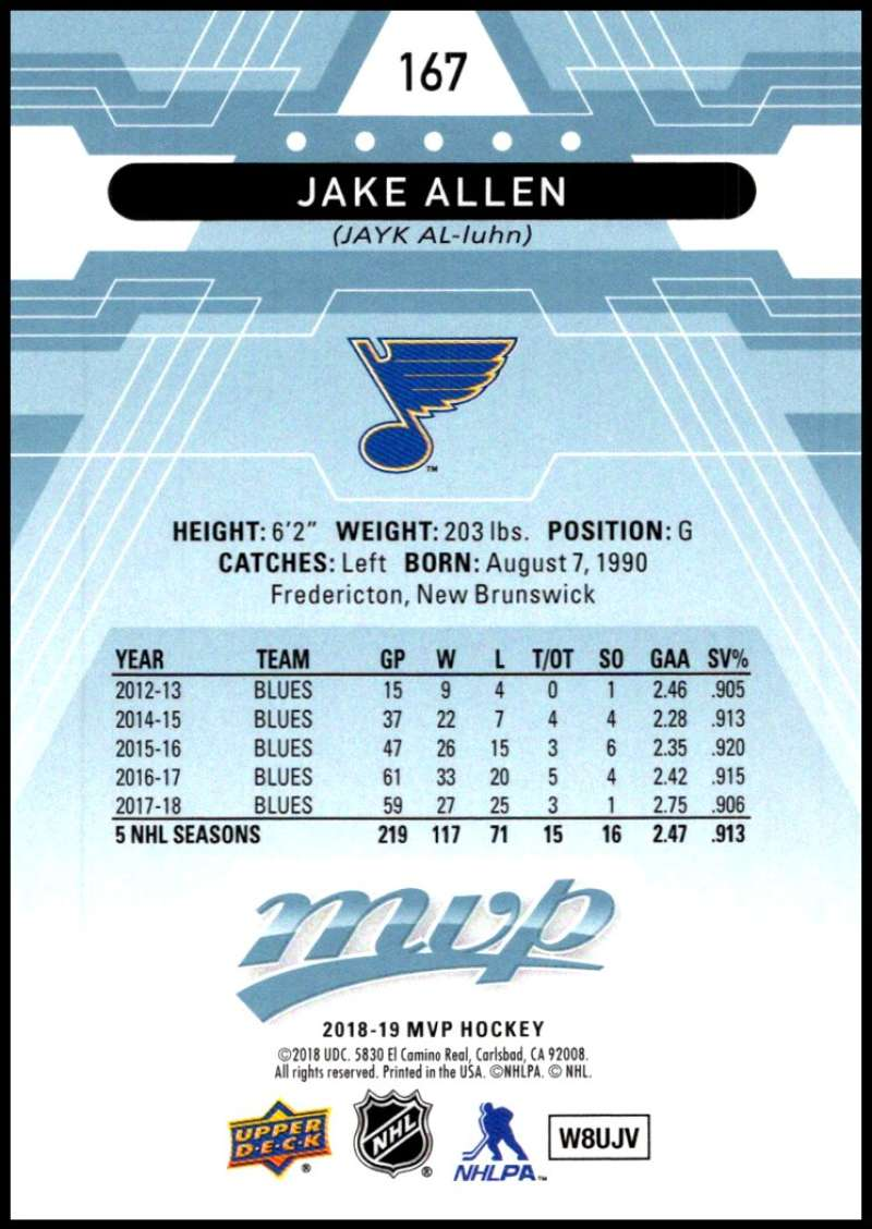 2018-19-Upper-Deck-MVP-Blue-Factory-Set-Parallels-Pick-From-List-With-Rookies miniature 335